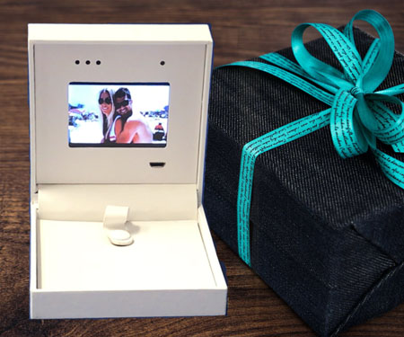 Custom Video Boxes - perfect for expensive jewelry